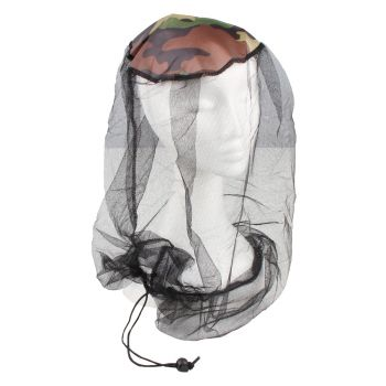 HEAD NET MOSQUITO DELUXE WITH DRAWSTRING