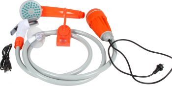 12V CAMP SHOWER RECHARGEABLE