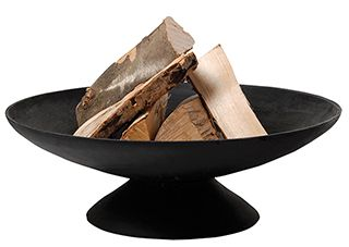 CAST IRON FIRE PIT 59 x 22CM 6MM THICKNESS