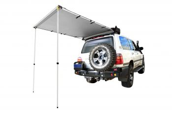 FRONTIER 140 DLX 4WD REAR AWNING 1.4X2M 600D CANVAS